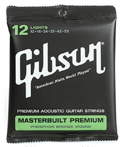 Gibson guitar strings